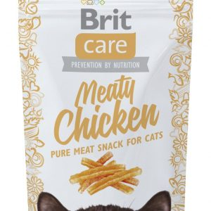 Brit Care Cat Snack Meaty Pollo 50gr * 5ud