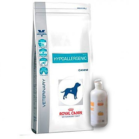 Pack Royal Canin Hypoallergenica y Aceite Salmon